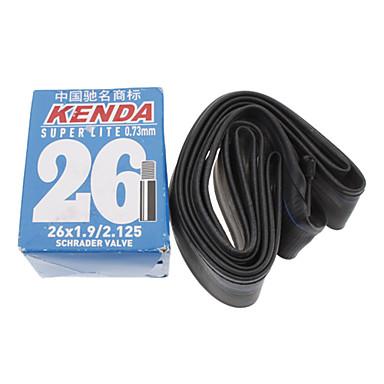 KENDA 26 * 1.9/2.125 AV Super Lite 0.73mm Rubber Material Sykkel Indre Tire