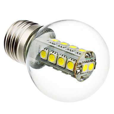 6000 lm E26/E27 LED kulaté žárovky G45 18 lED diody SMD 5050 Přirozená bílá AC 220-240V