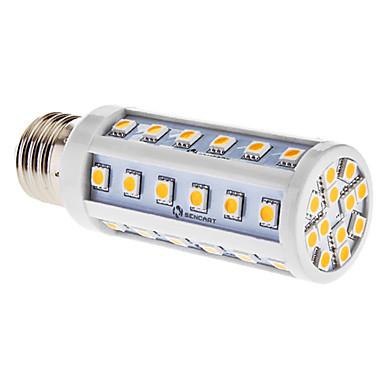 e26 / e27 lumini de porumb condus t 48 smd 5050 540lm cald alb 3000k ac 85-265v