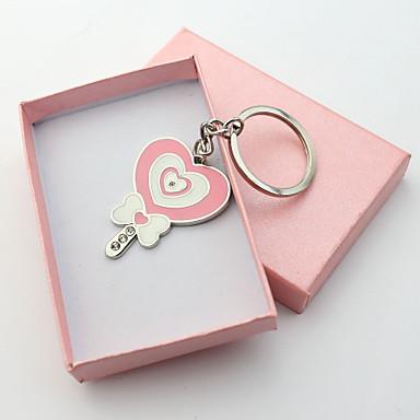 Personalizirani graviranog Poklon Lollipop Shape Keychains (set od 6)
