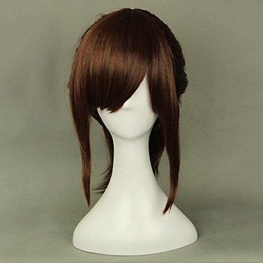 Cosplay Perücken Attack on Titan Sasha Blause Anime Cosplay Perücken 45 CM Hitzebeständige Faser Damen