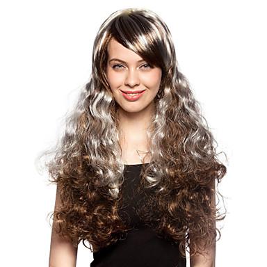 Парики для женщин Кудряшки спиралями Карнавальные парики Косплей парики