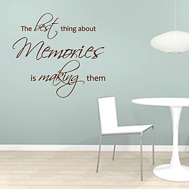 Лучше всего об Воспоминания делает их стикер стены