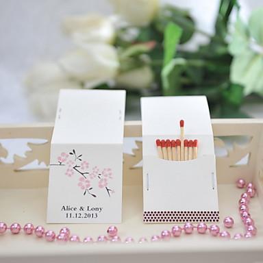 Häät / Party Materiaali Kova kartonki Wedding Kunniamerkit Kukkais-teema / Wedding Kevät Kesä Kaikki vuodenajat