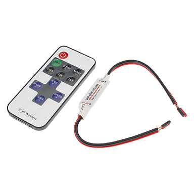 Remote Switch Plastic Dimmable DC 12V