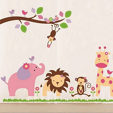 Venlig Zoo Wall Sticker