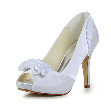 Women's Wedding Shoes Heels Heels Wedding Black/Ivory/White