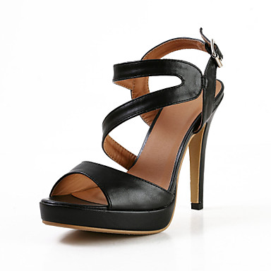 Fashion Leatherette Stiletto Heel Sandals with Buckle Party\Casual Shoes(More Colors)