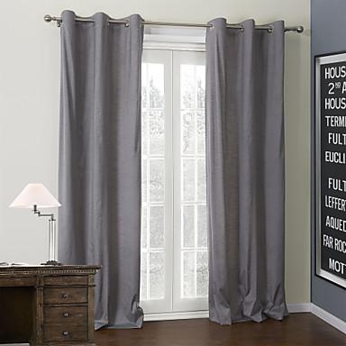 Window Léčba Moderní , Jednobarevné 100% polyester Polyester Materiál Home dekorace For Okno