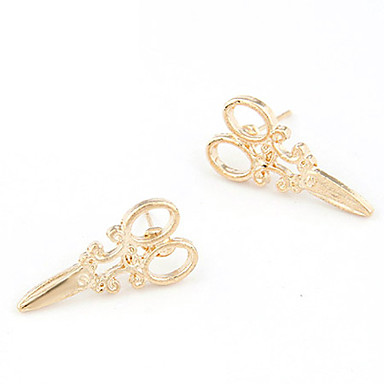 voordelige Dames Sieraden-Dames Oorknopjes Scharen Goedkoop Dames Gepersonaliseerde Modieus oorbellen Sieraden Voor Dagelijks