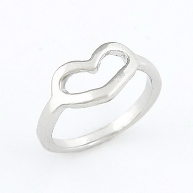 Unique Alloy Loving Heart Shaped Women's Ring(More Colors)