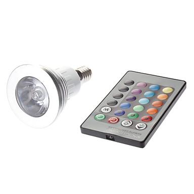 180 lm E14 LED Spotlight MR16 1 leds High Power LED Remote-Controlled AC 85-265V