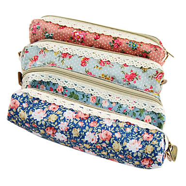 Flower Lace Pen Bag