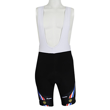 Kooplus Men's Women's Cycling Bib Shorts Bike Shorts Bib Shorts Jersey, Quick Dry, Summer, Polyester