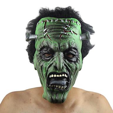 Monster Maske Unisex Halloween Festival/Højtider Halloween Kostumer Ensfarvet