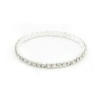 Pentru femei - Tenis Brățări Argintiu Pentru Petrecere / Ocazie specială / Cadou / Zilnic / Casual
