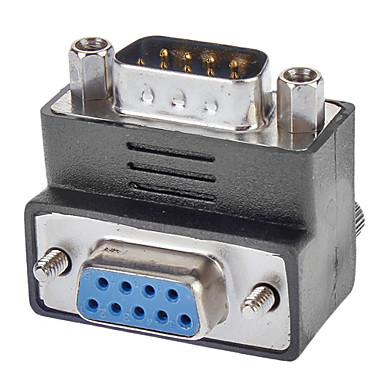 DB9 Anschlussadapter 90 ° nach unten