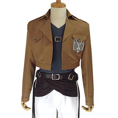 Inspirat de Atac pe Titan Ymir Anime Costume Cosplay Costume Cosplay 纯色 Manșon LungGeacă Pantaloni Accesoriu Talie Centură Tricou Curea