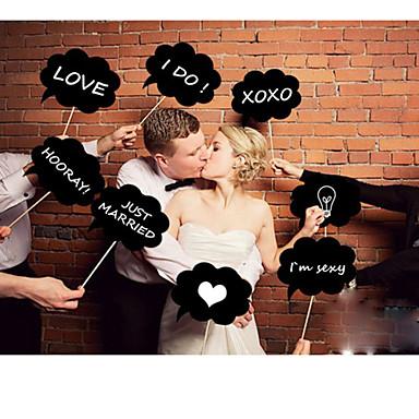 voordelige Feestbenodigdheden-Fotohokje rekwisieten HardKaart Paper Bruiloftsdecoraties Bruiloft / Feest Klassiek Thema Alle seizoenen