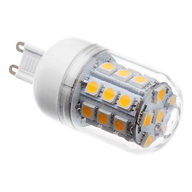 3W 3000 lm G9 LED corn žárovky T 30 lED diody SMD 5050 Teplá bílá AC 220-240V