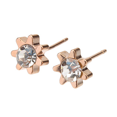 Women's Stud Earrings - Gold For Daily