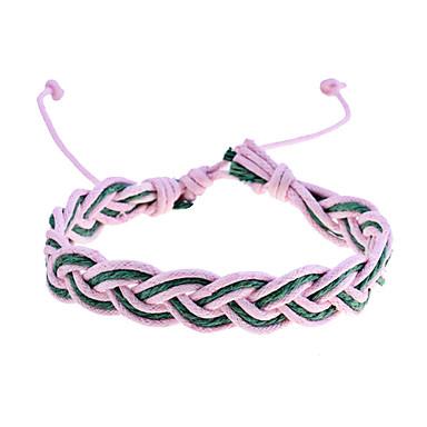 billige Motearmbånd-Herre Sjal Armbånd Tøy Armbånd Smykker Regnbue Til Fest Daglig Avslappet