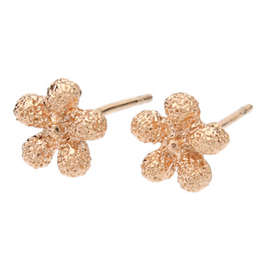 Women's Stud Earrings - Gold Plated For Daily