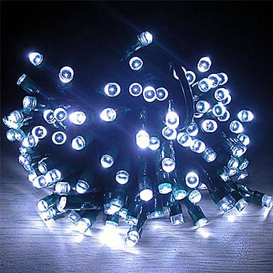 22M Solar Power 200 lumini LED albe Fairy șir lumina lămpii Xmas Party nunta Garden Decor