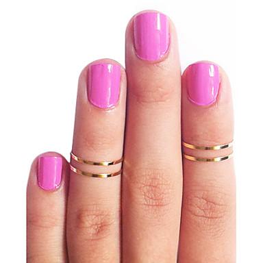 Pentru femei Articole de ceramică - Modă Auriu / Argintiu Inel Pentru Zilnic