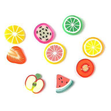 1 pcs Seturi de decorare / Polimer Nail Art Fructe / Desen animat / Nuntă Încântător Zilnic