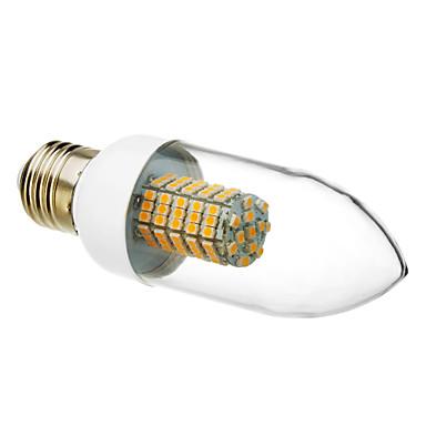 520-550 lm E26/E27 LED Mum Işıklar 102 led SMD 3528 Sıcak Beyaz AC 220-240V