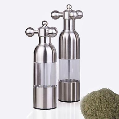 4,8 * 17,5 см Руководство перца из нержавеющей стали Grinder в пиве дизайн бутылки