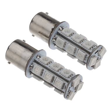 SO.K 2pcs 1156 Araba Ampul SMD 5050 60-100 lm Stop lambası For Uniwersalny
