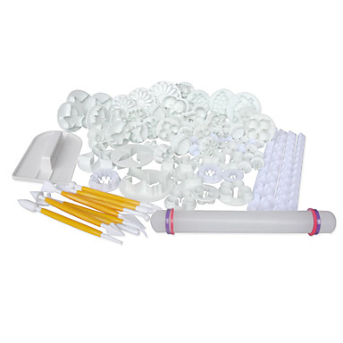 21sets (68pcs) tort / fondantă decorare Instrumente