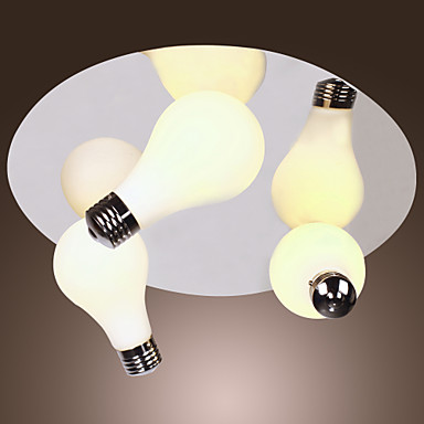 Lámpara Chandelier Moderna con 3 Bombillas - CONGLETON