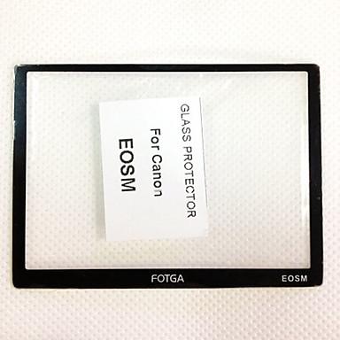 fotga® højkvalitets lcd-skærm panel beskytter glas til Canon EOS m