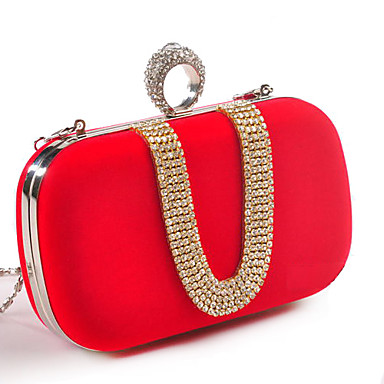 Women's Bags Polyester Evening Bag for Event / Party Fuchsia / Red / Royal Blue