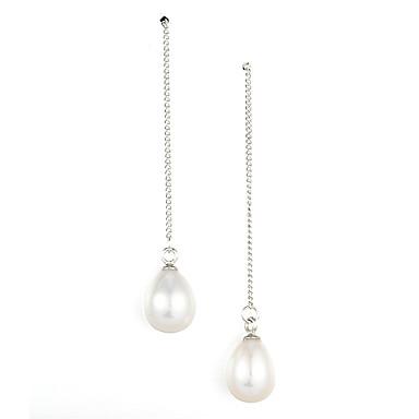 Pentru femei Plastic Argintiu 1set - Stilat cercei Pentru Ocazie specială Party / Seara