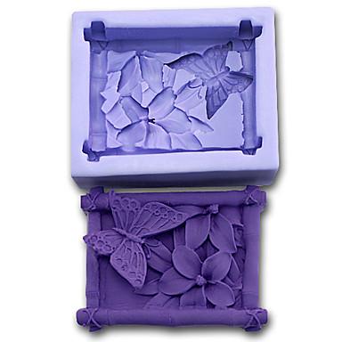 Backform Schmetterling Obstkuchen Plätzchen Kuchen Silikon Umweltfreundlich Heimwerken 3D