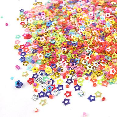 1pcs Glitter & Poudre Polymer Nail Art Decoration Kits Cartoon Fashion Lovely Wedding High Quality Daily