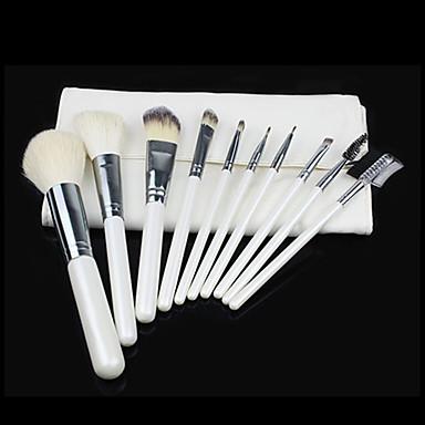 10 Seturi perie Perie Deasă / Păr sintetic / Perie din Păr de Capră Faţă / Buze / Ochi
