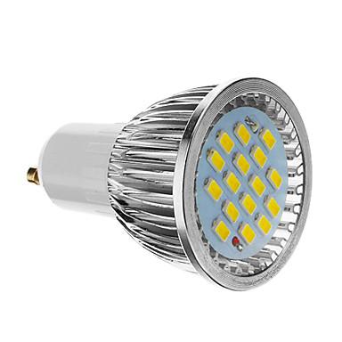 4W 350-400 lm GU10 LED Spot Lampen 16 Leds SMD 5730 Kühles Weiß Wechselstrom 85-265V