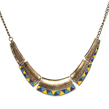 Dámské Üçgen Geometric Shape Módní Obojkové náhrdelníky Klasické Náhrdelníky Slitina Obojkové náhrdelníky Klasické Náhrdelníky , Párty