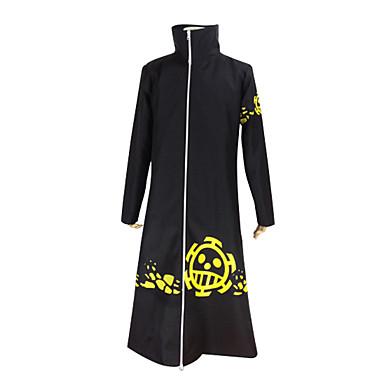 Inspiriert von One Piece Trafalgar Law Anime Cosplay Kostüme Cosplay Kostüme Solide Langarm Mantel Für Herrn
