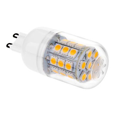1pc 3.5 W 200-250 lm G9 LED Mısır Işıklar T 31 LED Boncuklar SMD 5050 Sıcak Beyaz 220-240 V