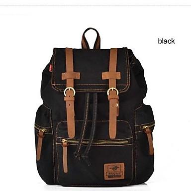 e88ba4f666a31 بنات جديدة رجالي قماش جلد على ظهره حقيبة يد حقيبة الظهر محمول كتاب ...