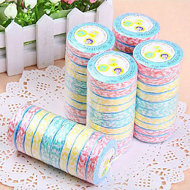 Prosoape portabile multicolor Ripple unica comprimat (10PCS aleatoare Colors)