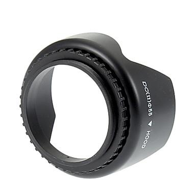 Universal 55mm Screw Mount Lens Hood for Nikon/Canon