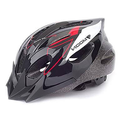 MOON Adulți biciclete Casca 16 Găuri de Ventilaţie CE Rezistent la Impact, Vizor detașabil PVC, EPS Sport Ciclism stradal / Ciclism recreațional / Ciclism / Bicicletă