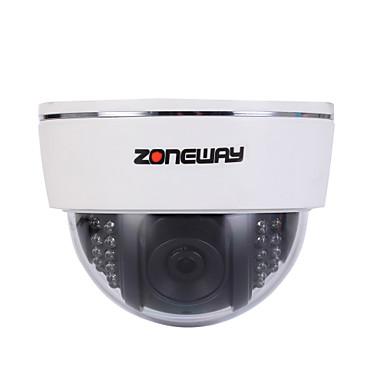 ZONEWAY 2.0 MP Interior with IR-cut Zi Noapte Premium  Zi Noapte Detectare mișcare Dublu Flux Acces la distanță Alimentează și pornește